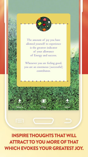 The Teachings of Abraham Well-Being Cards screenshot 2