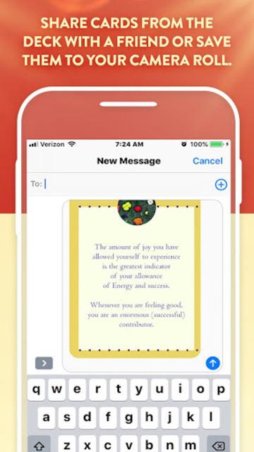 The Teachings of Abraham Well-Being Cards screenshot 5