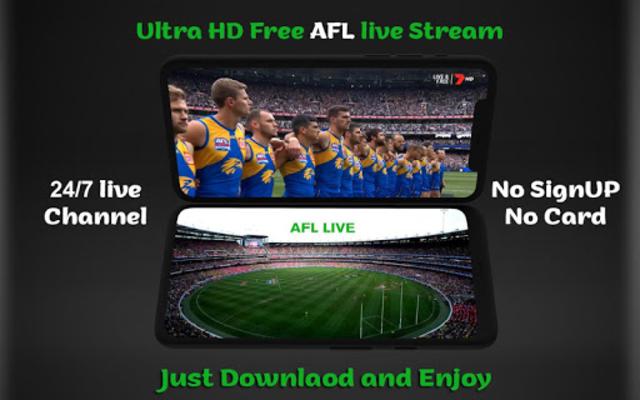 AFL Free Live Stream Schedule and Scores screenshot 1