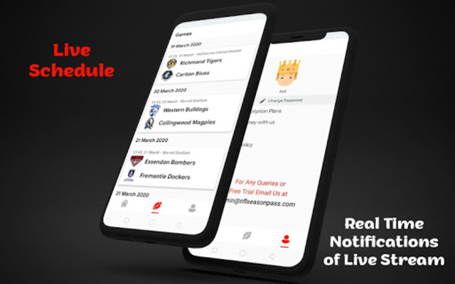 AFL Free Live Stream Schedule and Scores screenshot 5