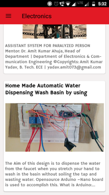 Electronics Lovers - Arduino ,Tech & Science Blog screenshot 2