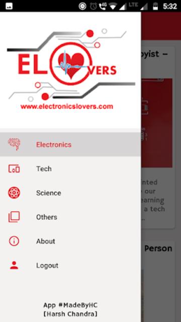 Electronics Lovers - Arduino ,Tech & Science Blog screenshot 3