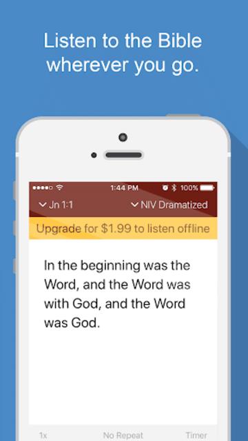 Bible Audio screenshot 1