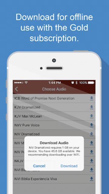 Bible Audio screenshot 6