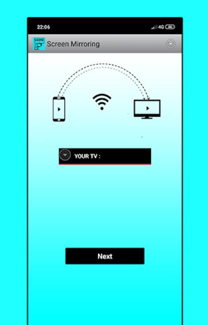 hdmi usb connector mobile screen cast mirroring tv screenshot 1