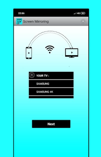 hdmi usb connector mobile screen cast mirroring tv screenshot 2