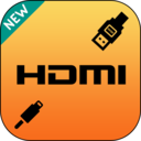 Icon for HDMI Connector(usb/mhl/wifi/hdmi)