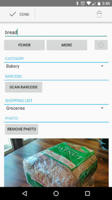 OurGroceries Key screenshot 4