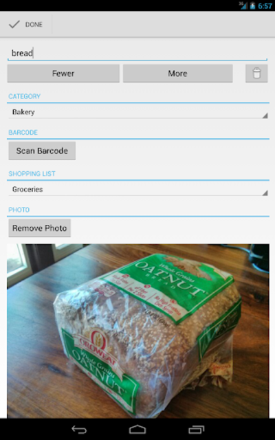 OurGroceries Key screenshot 14