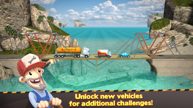 Bridge Constructor screenshot 16