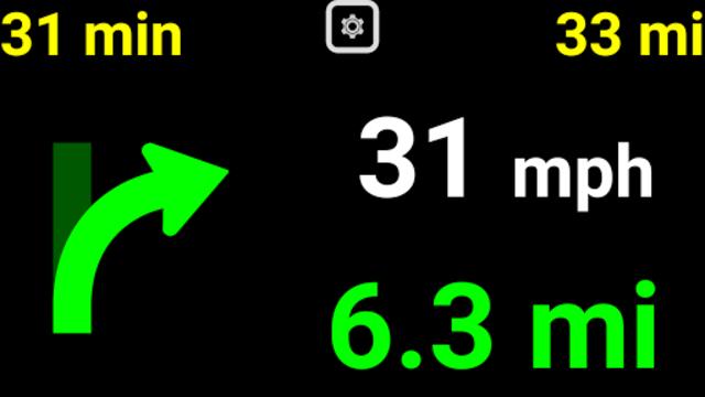 Head-Up Nav HUD Navigation screenshot 1