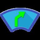 Icon for Head-Up Nav HUD Navigation