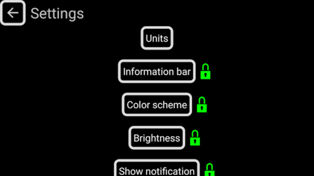 Head-Up Nav HUD Navigation screenshot 6