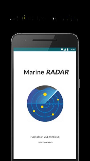 Marine Radar - Ship tracker screenshot 1