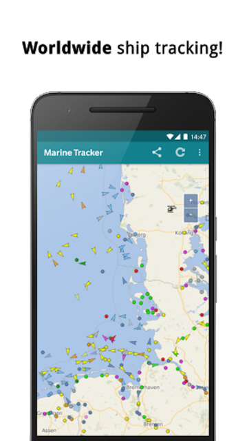 Marine Radar - Ship tracker screenshot 2