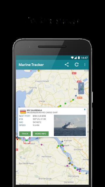 Marine Radar - Ship tracker screenshot 3