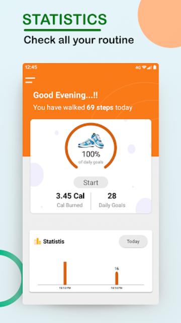 Step Counter - Walking, Lose Weight, Health, Sport screenshot 1