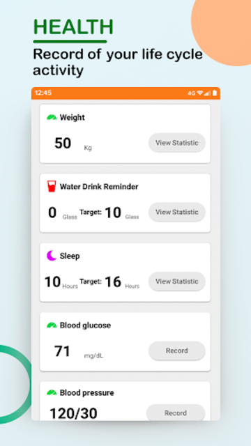 Step Counter - Walking, Lose Weight, Health, Sport screenshot 2