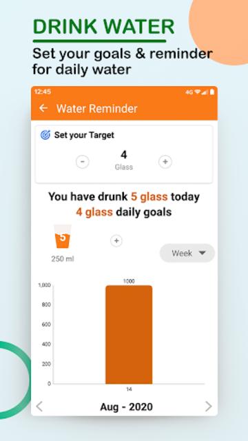 Step Counter - Walking, Lose Weight, Health, Sport screenshot 3