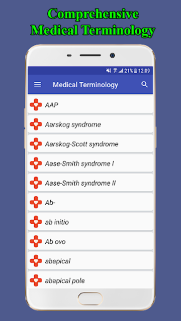 Medical Terminology Dictionary | Free & Offline screenshot 1