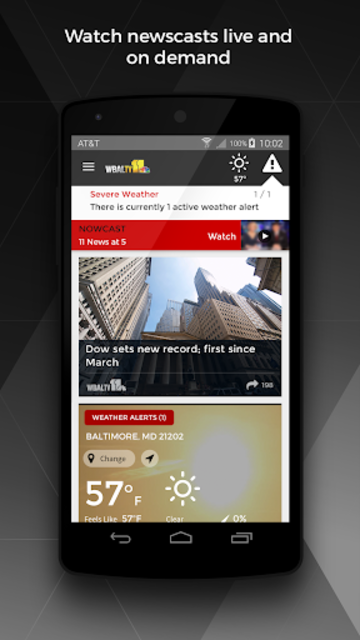 WBAL-TV 11 News and Weather screenshot 1