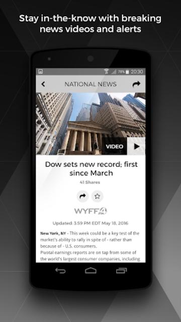 WYFF News 4 and weather screenshot 2