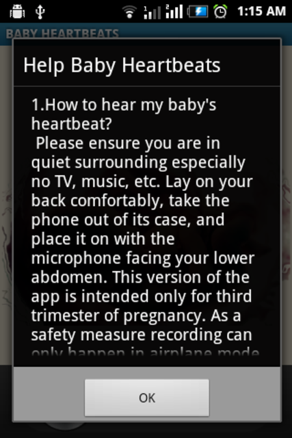 Baby Heartbeats Lite screenshot 4