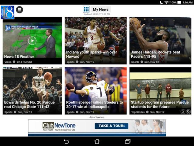 WLFI-TV News Channel 18 screenshot 6