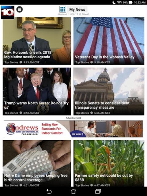 WTHI News 10 screenshot 11