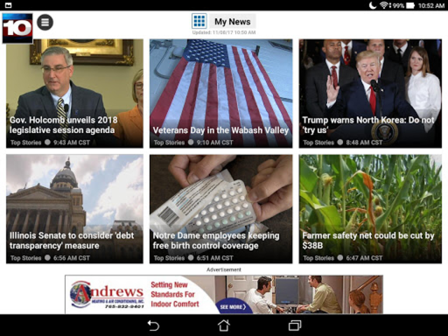 WTHI News 10 screenshot 12
