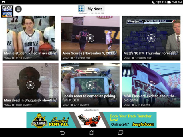 WTVA/WLOV News screenshot 6