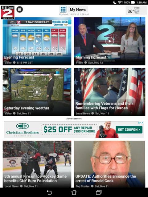 WKTV NewsChannel 2 screenshot 5