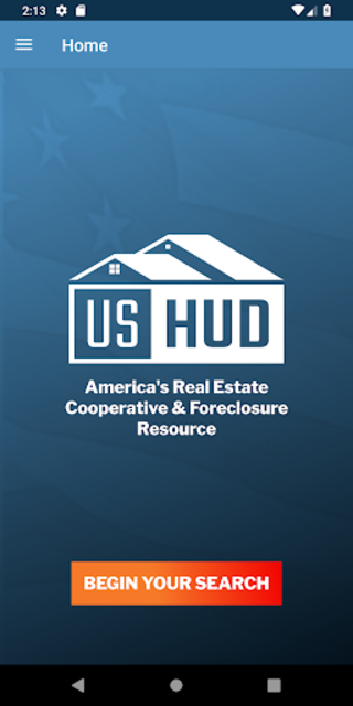 Free Foreclosure Home Search by USHUD.com screenshot 1
