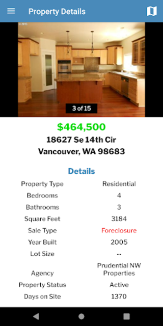 Free Foreclosure Home Search by USHUD.com screenshot 3