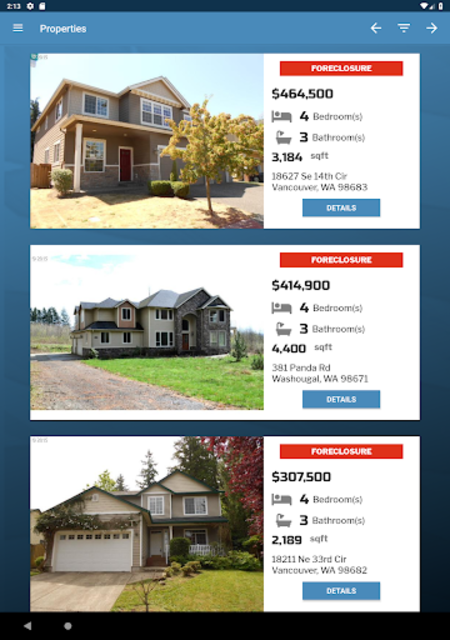 Free Foreclosure Home Search by USHUD.com screenshot 10