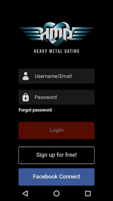 Heavy Metal Dating Ltd screenshot 1