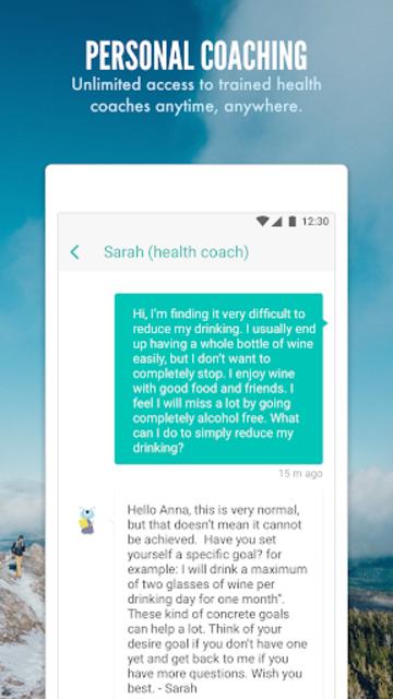 Daybreak - Alcohol support screenshot 3