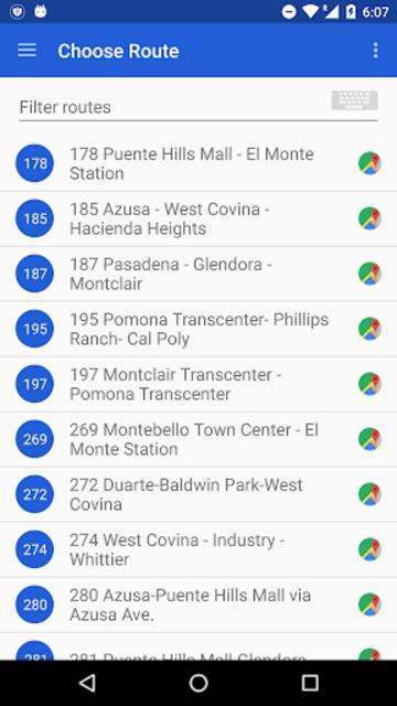 Foothill Transit screenshot 2