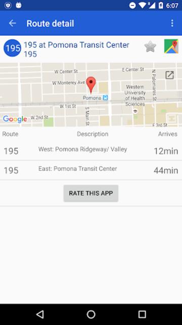 Foothill Transit screenshot 3