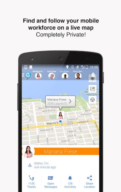 Hellotracks, GPS Phone Tracker screenshot 1