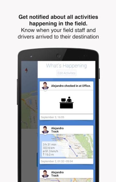 Hellotracks, GPS Phone Tracker screenshot 2