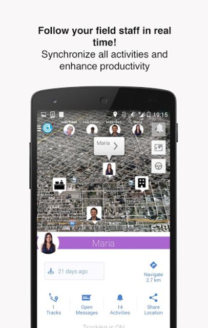 Hellotracks, GPS Phone Tracker screenshot 5