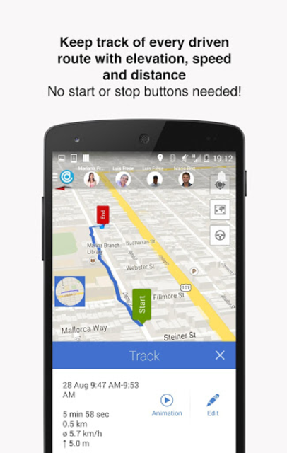 Hellotracks, GPS Phone Tracker screenshot 6