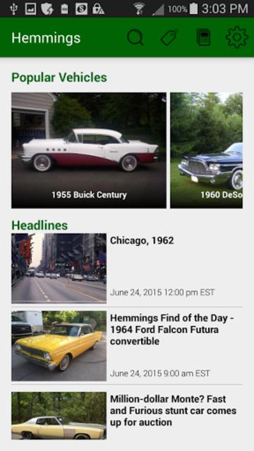Hemmings Classic Cars for Sale screenshot 1