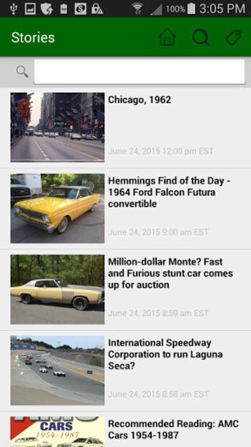 Hemmings Classic Cars for Sale screenshot 4