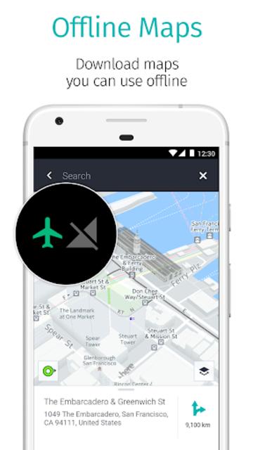 HERE WeGo - Offline Maps & GPS screenshot 2