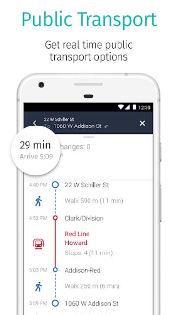 HERE WeGo - Offline Maps & GPS screenshot 3