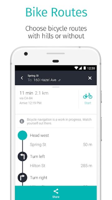 HERE WeGo - Offline Maps & GPS screenshot 5