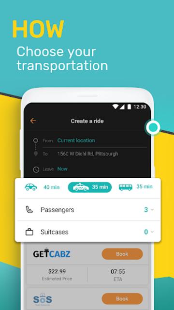 SoMo - The all-in-one transportation app screenshot 3