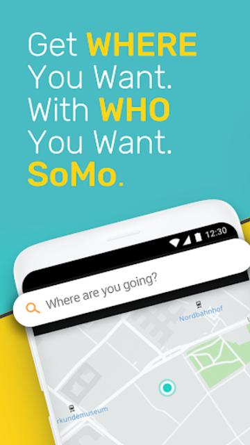 SoMo - Plan & Commute Together. Arrive Stress Free screenshot 1